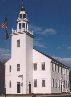 Town Hall and meetinghouse