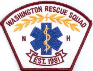 washington rescue squad patch